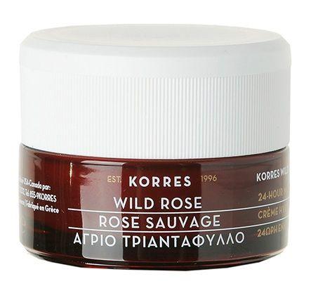 KORRES Wild Rose 24-Hour Moisturising & Brightening Cream