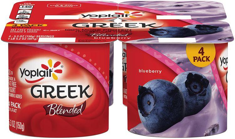 Yoplait® Greek Blended Blueberry Fat Free Yogurt