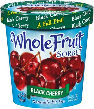 Whole Fruit® Black Cherry Sorbet