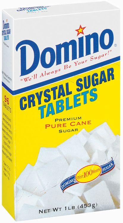 Domino Crystal Pure Cane Sugar Tablets