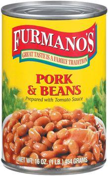 Furmano's Prepared W/Tomato Sauce Pork & Beans