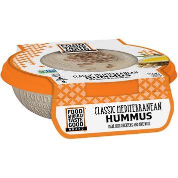 Food Should Taste Good Classic Mediterranean Hummus