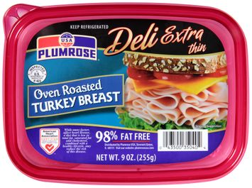 Plumrose® Deli Extra Thin Oven Roasted Turkey Breast