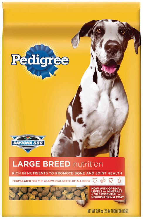 Pedigree® Large Breed Nutrition Dry Dog Food