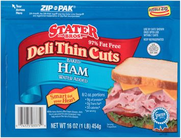 Stater bros® Deli Thin Cuts Baked Ham