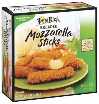 Farm Rich Mozzarella Breaded 676 Ct Cheese Sticks