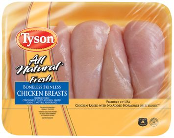 Tyson® Boneless, Skinless Chicken Breasts with Rib Meat