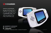 Game Boy Advance System Recharged Refurbished