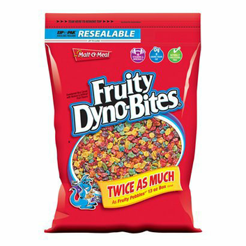 Malt O Meal Fruity Dyno Bites 26