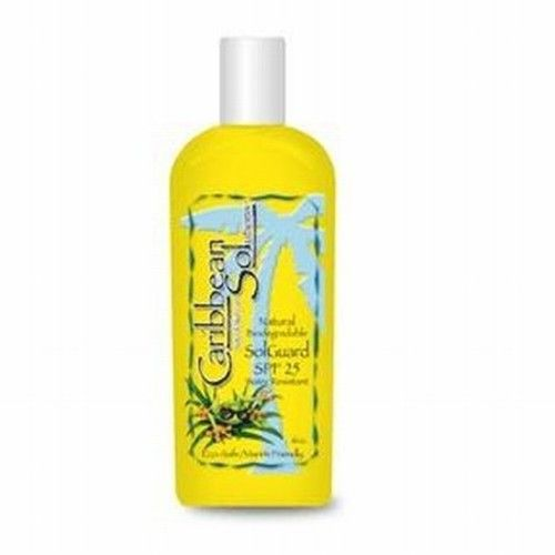 Caribbean Solutions Sol Guard Sunscreen Spf 25 6 oz Lotion