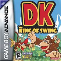 Nintendo Donkey Kong King of Swing