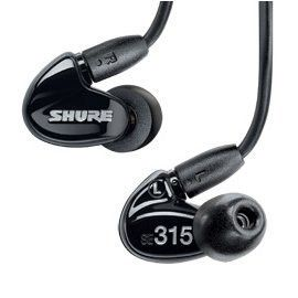 Headphone Shure SE315 Sound Isolating In-ear Transparent