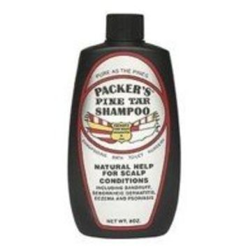 Packers Pine Tar Shampoo for Hair and scalp - 8 Oz