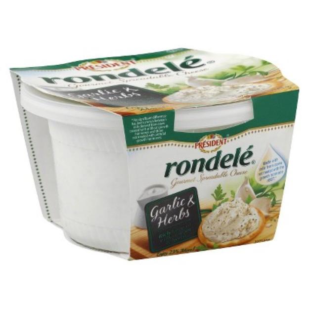 Lactalis USA Rondele Garlic & Herb Spreadable Cheese 8 oz
