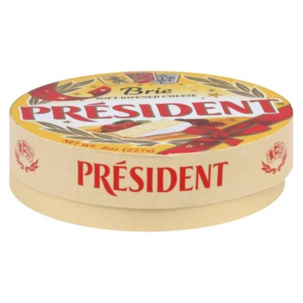 President Brie Cheese Wheel 8 oz