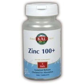 KAL Zinc-100 + Amino Chelate - 100 - Tablet