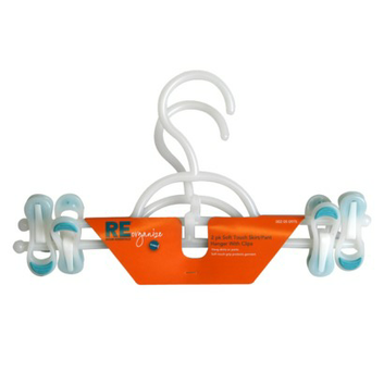 Room Essentials Soft Touch Skirt Hangers with Clips 2-pk.