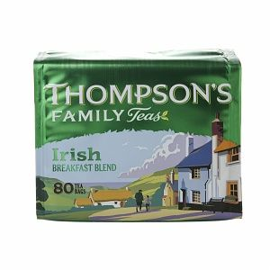 Punjana Thompson's Family Teas Tea, Irish Breakfast, 80 bags