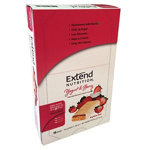 Extend Bar Anytime Bars, Yogurt & Berry, 15 pk, 1.41 oz