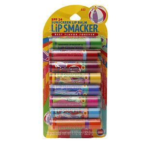 Bonne Bell Lip Smacker Party Pack with SPF 24 Fruit Flavors