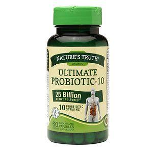 Nature's Truth Ultimate Probiotic-10 25 Billion, 60 ea