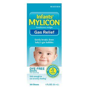 Mylicon Infant Gas Relief Drops Dye Free Formula, 1 oz