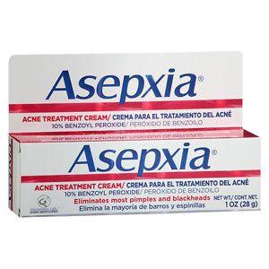 Asepxia Spot Acne Treatment Cream 10%, 1 oz