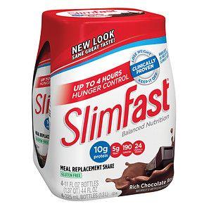 SlimFast Balanced Nutrition Rich Chocolate Royale Shakes