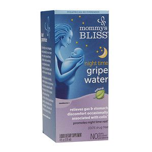 Mommy's Bliss night time gripe water, 4 oz