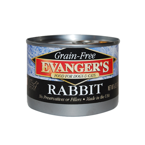 Evanger's Grain-Free Rabbit For Dogs & Cats