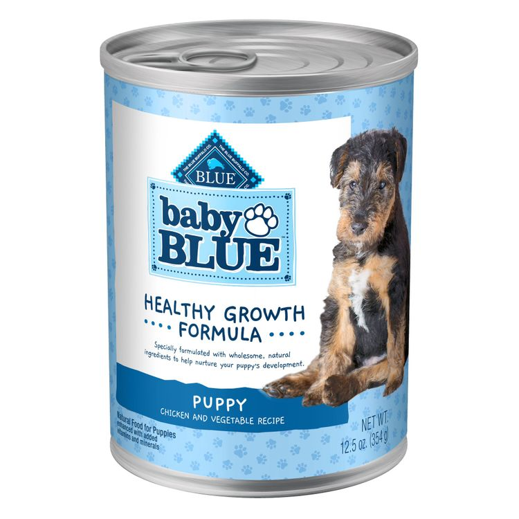 Blue Buffalo Baby Blue Healthy Growth Formula Natural Chicken & Vegetable Recipe Wet Puppy Food