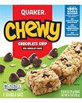 Quaker Chewy Granola Bars Chocolate Chip