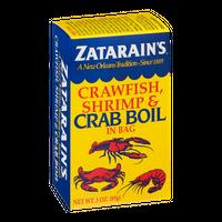 Zatarain's Crawfish, Shrimp & Crab Boil in Bag