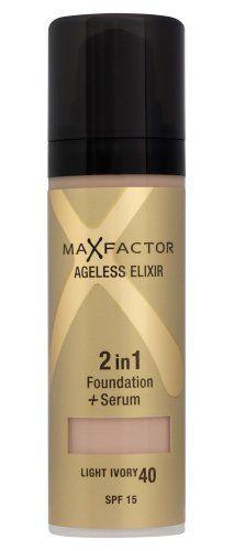 Max Factor Ageless Elixir 2 in 1 Foundation Plus Serum SPF 15