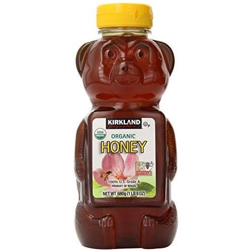 Kirkland Signature 100% U.S. Grade A Organic Honey, 4.5 Pound