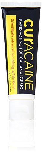 Curacaine Rapid Acting Topical Analgesic Skin Care Cream