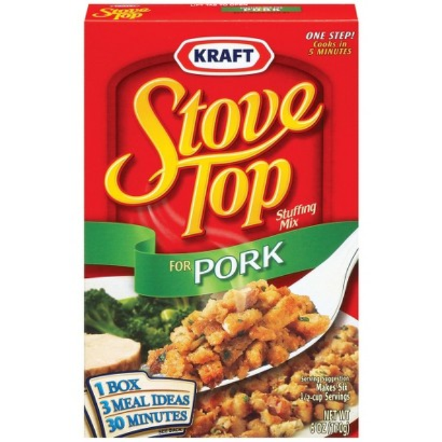 Kraft Stove Top Pork Stuffing Mix 6-oz.