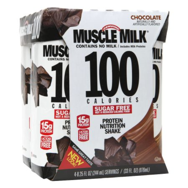 Muscle Milk Chocolate Protein Nutrition Shake - 33 oz