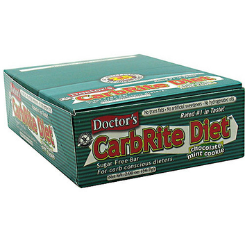 Doctor's CarbRite Diet Chocolate Mint Cookie Bars