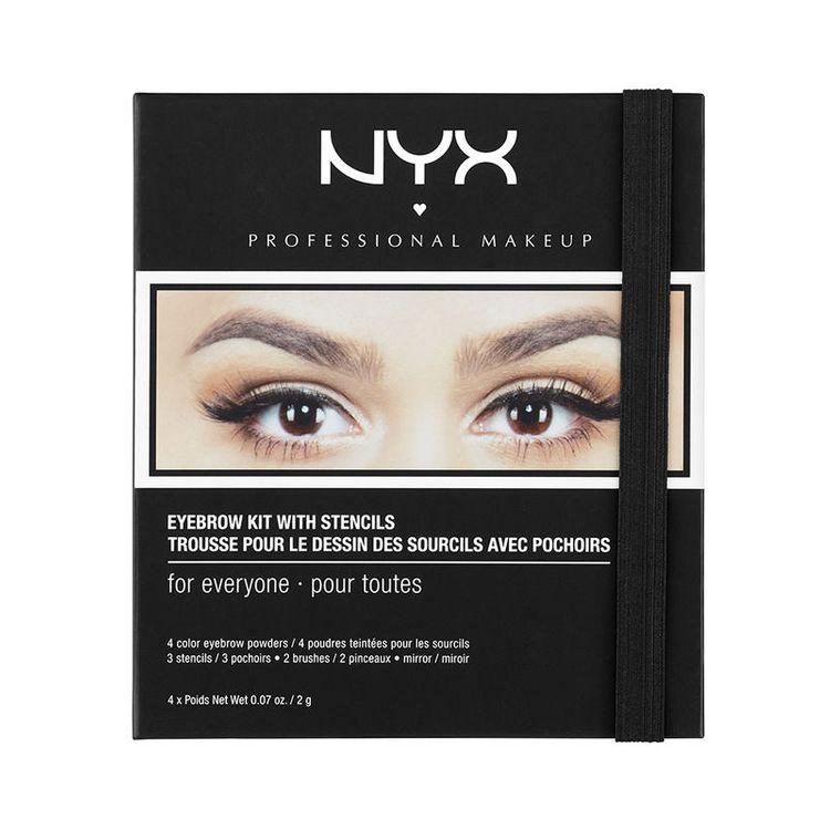 NYX Eyebrow Kit Set With Stencil