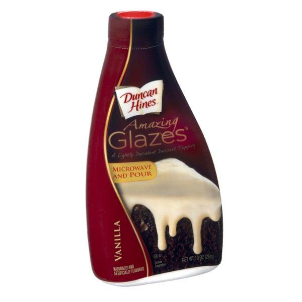 Duncan Hines Amazing Glazes Vanilla Dessert Topping