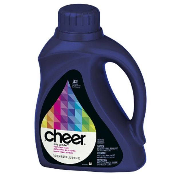 Cheer Stay Colorful  Liquid Laundry Detergent