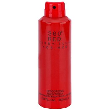 Perry Ellis Cologne 360 Red 6.8 Oz Deodorizing Body Spray For Men - 360R68BSM