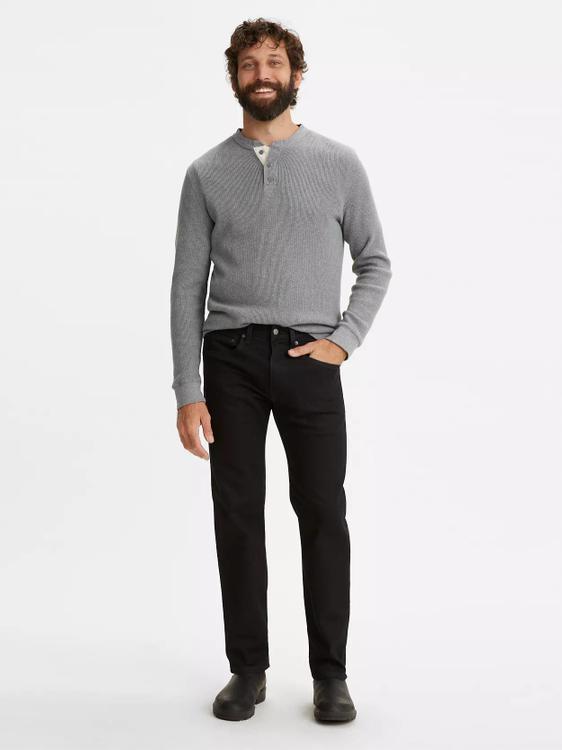 Western Fit Men's Jeans - Knees Deep - Black
