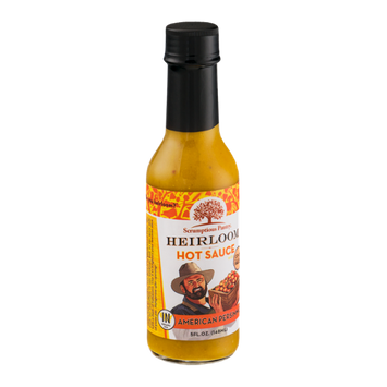 Scrumptious Pantry Heirloom Hot Sauce American Persimmon
