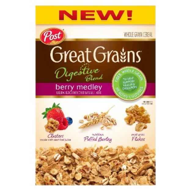 Post Foods, LLC GREAT GRAINS DB BRY MEDLEY 12.75OZ