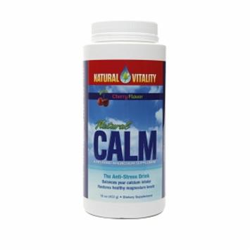 Natural Vitality Natural Calm Anti-Stress Drink, Cherry, 16 oz