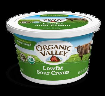 Organic Valley® Lowfat Sour Cream