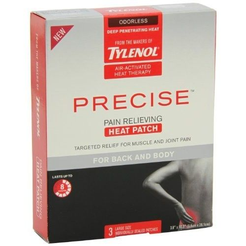 Tylenol® Precise Heat Patch for Back and Body Pain Relieving