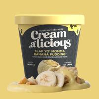Creamalicious Slap Yo' Momma Banana Pudding Ice Cream